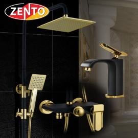 Combo sen cây và vòi lavabo Vintage Zento KM109